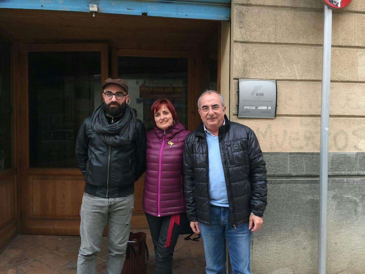 Amadeu Corbera, Cristòfol Soler i Agnès Ambròs