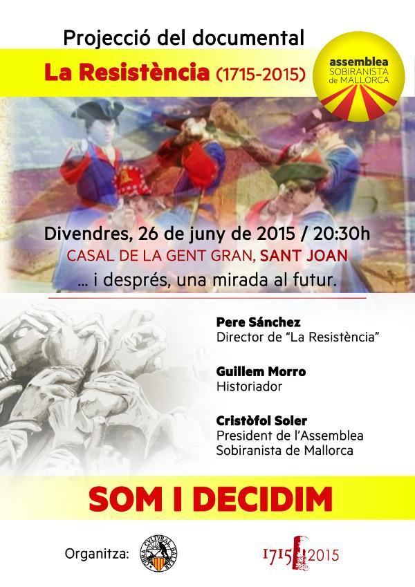 Presentació Assemblea Sobiranista de Mallorca a Sant Joan