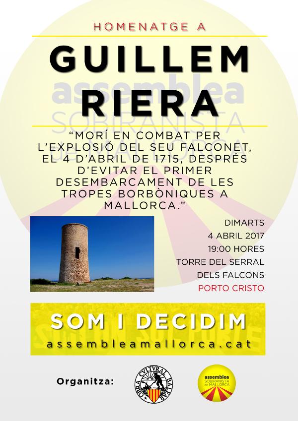 Homenatge a Guillem Riera