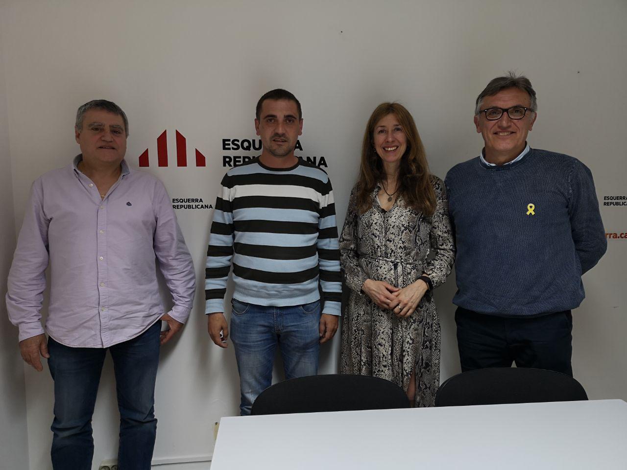 Reunió ASM - ERC de Mallorca