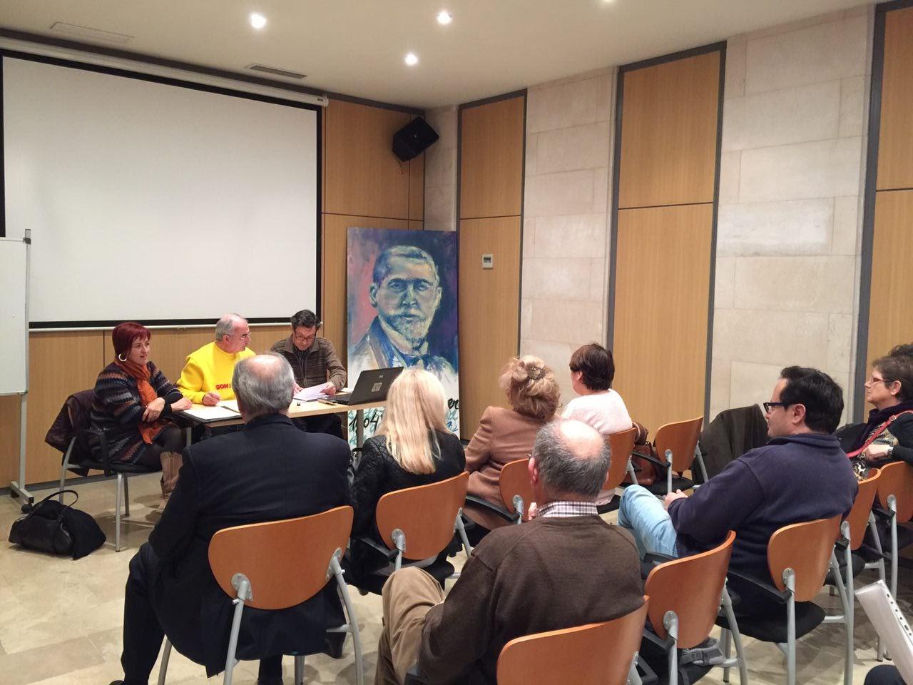 Cristòfol Soler ha encetat la reunió de constitució de la secció local de Palma