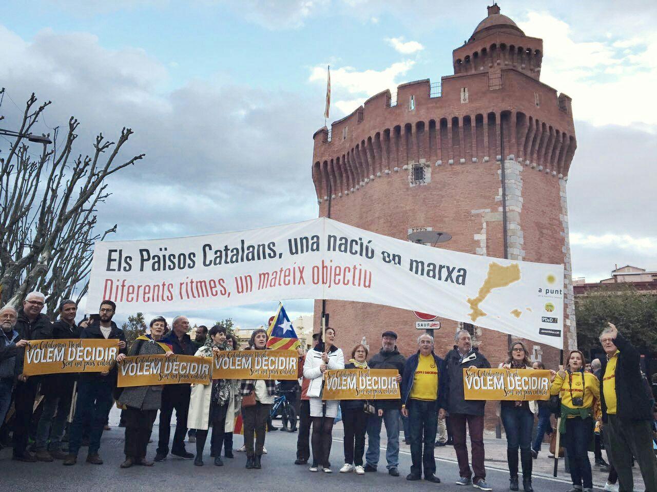 Elks Països Catalans, una nació en marxa. Diferents ritmes, un mateix objectiu.